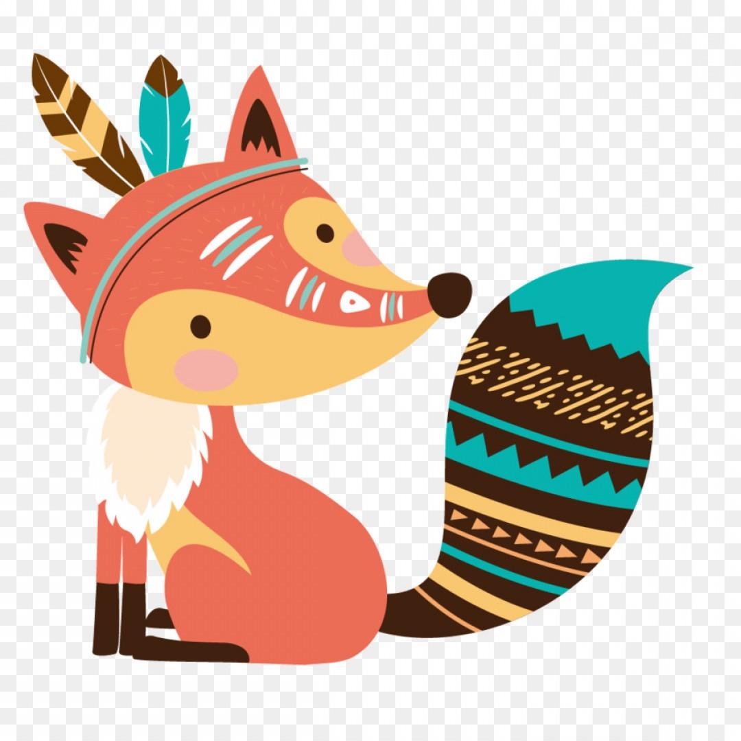 Png Baby Announcement Cartoon Birth Vector Cartoon Fox.