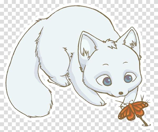 Arctic fox Drawing Snowy owl, arctic fox transparent.