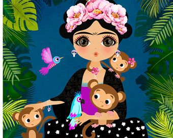 Image result for baby frida clipart.