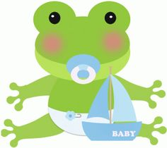 Baby Frog Clipart.