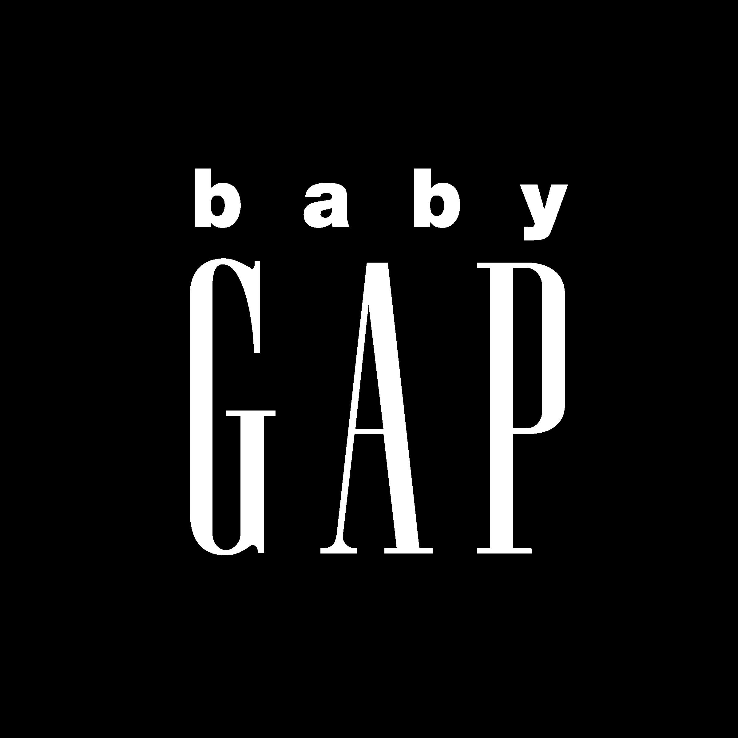 Baby Gap Logo PNG Transparent & SVG Vector.