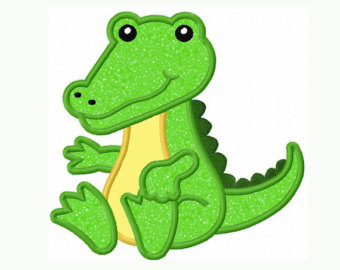 Baby Gator Clipart.