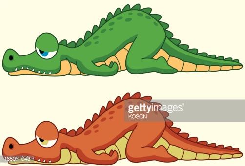 Crocodiles Clipart.
