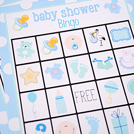 Free Baby Shower Bingo Cards Your Guests Will Love.