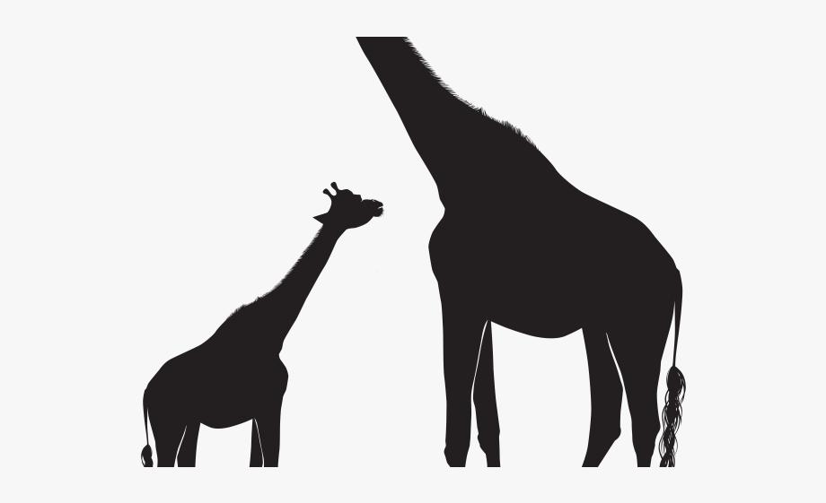 Giraffe Clipart Shadow.