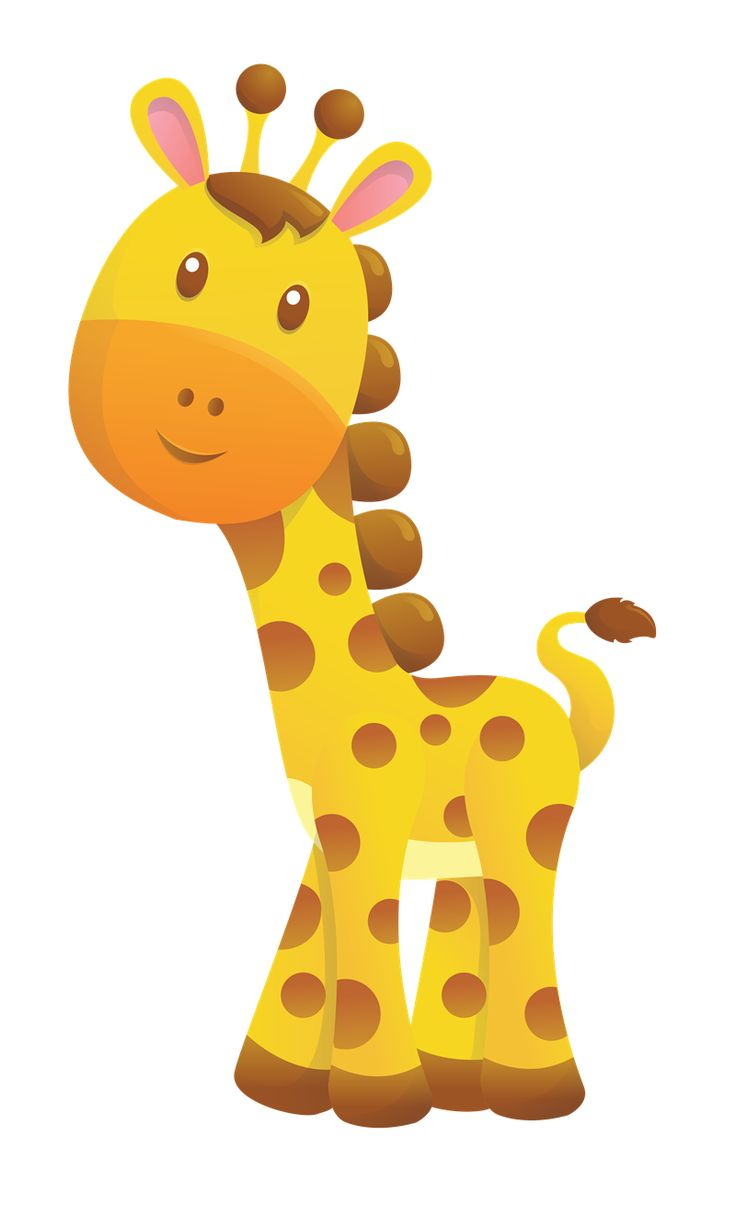 Free baby giraffe clip art.