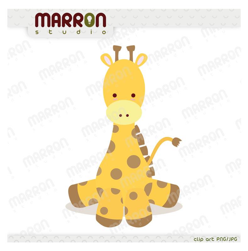 Baby Giraffe Clipart.