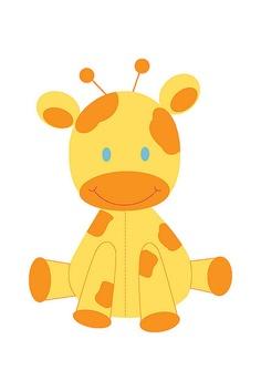 Giraffe Clipart Baby Shower.