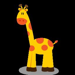 Baby Giraffe Clip Art.