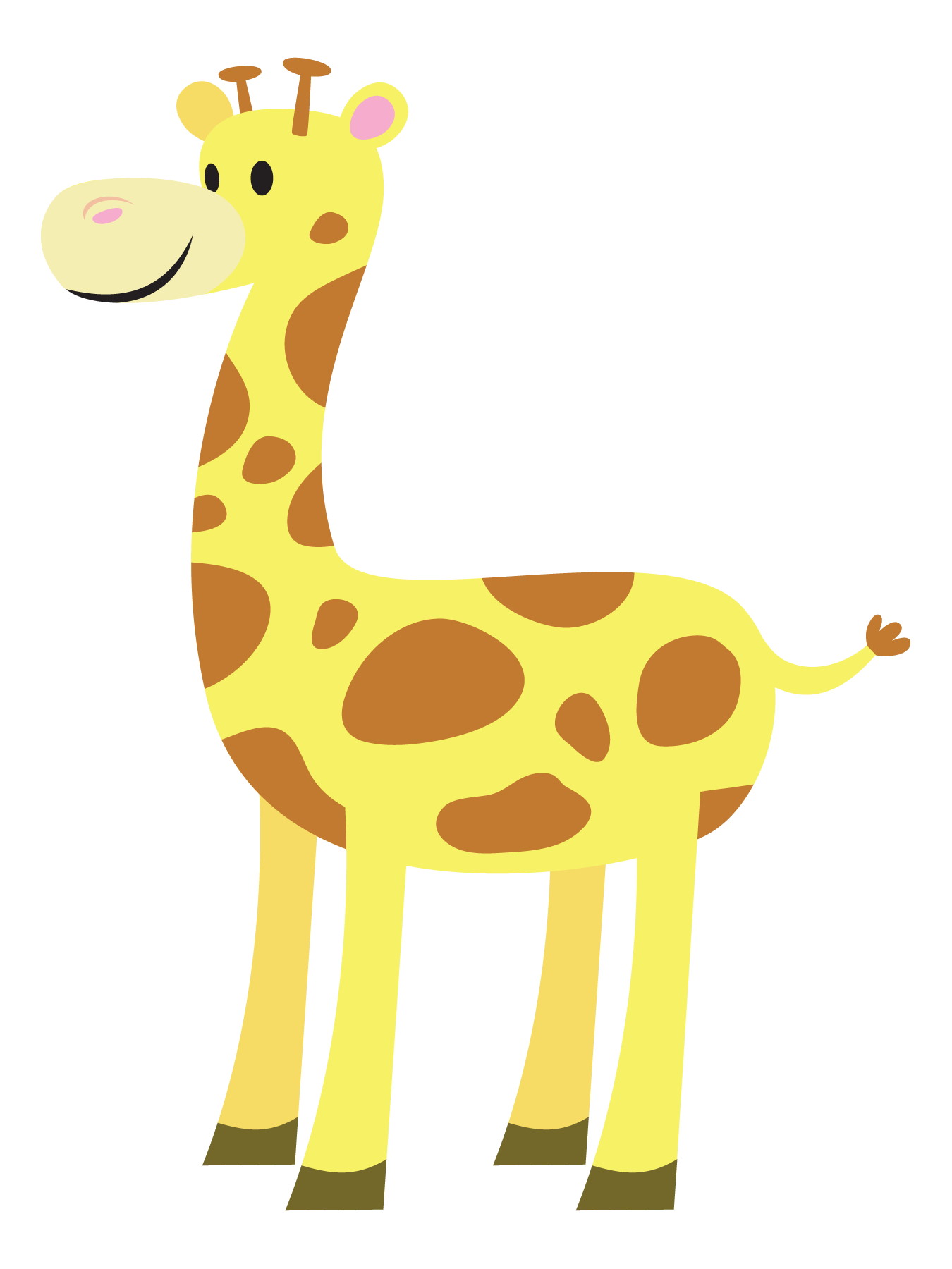 Free Cartoon Baby Giraffe Images, Download Free Clip Art.