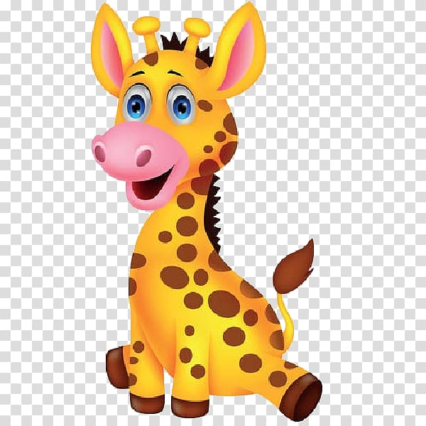 Baby Giraffes Drawing, cartoon giraffe transparent.