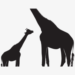 Giraffe Clipart Shadow.