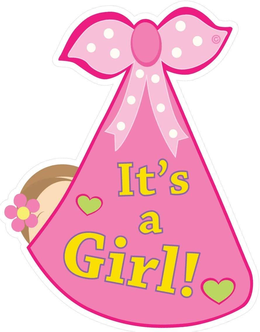 Amazon.com: Cute News It\'s a Girl Baby Door Sign.