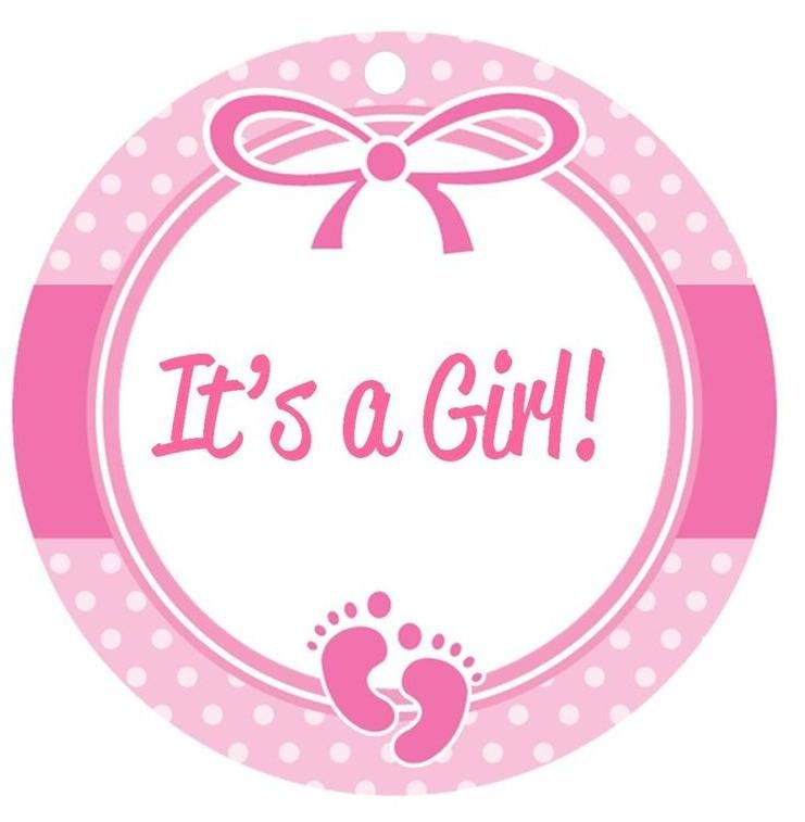 Baby Girl Clipart.