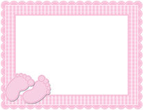 More Similar Stock Image Baby Girl Arrival Card Background.