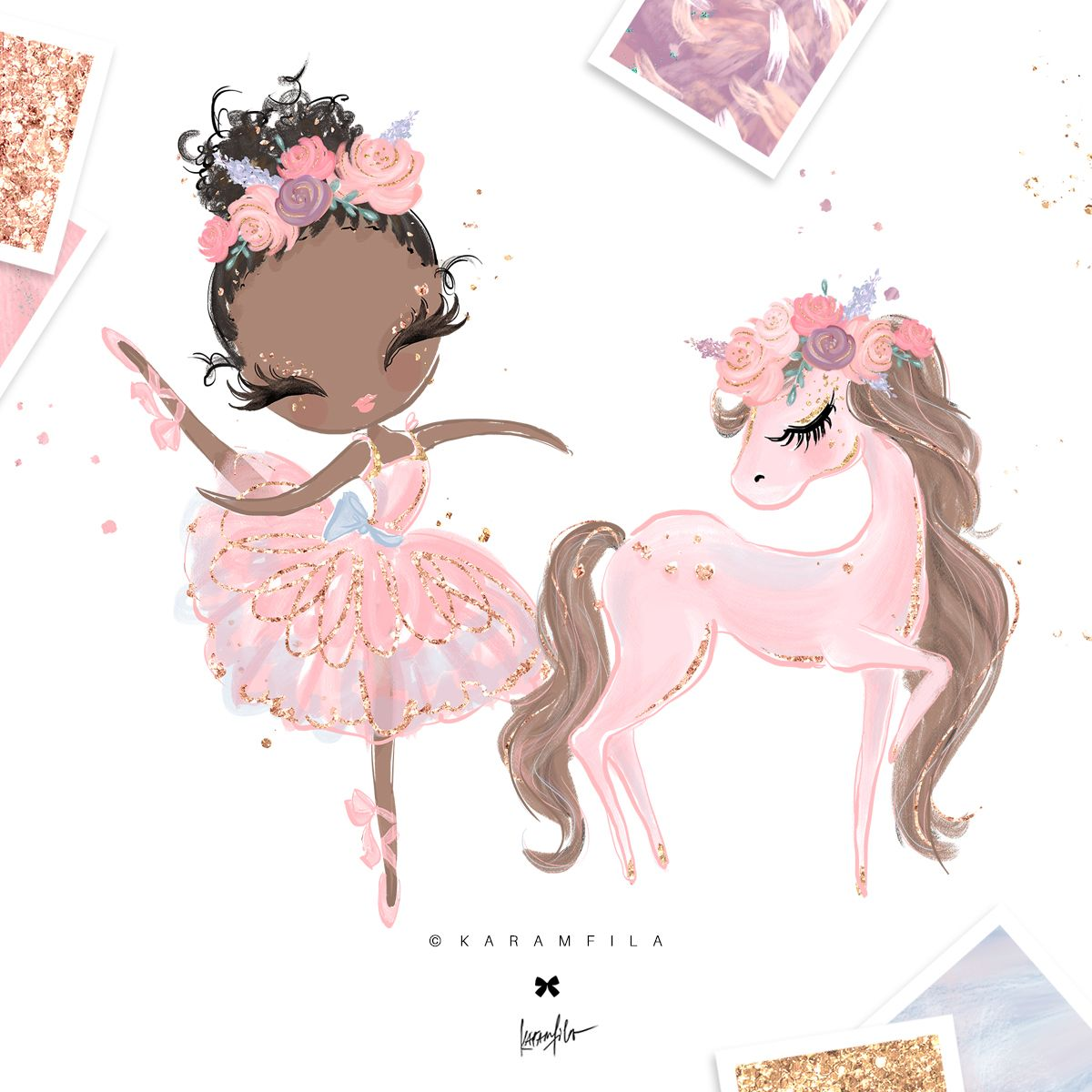 Ballerina Clipart, Swan Pony in 2019.