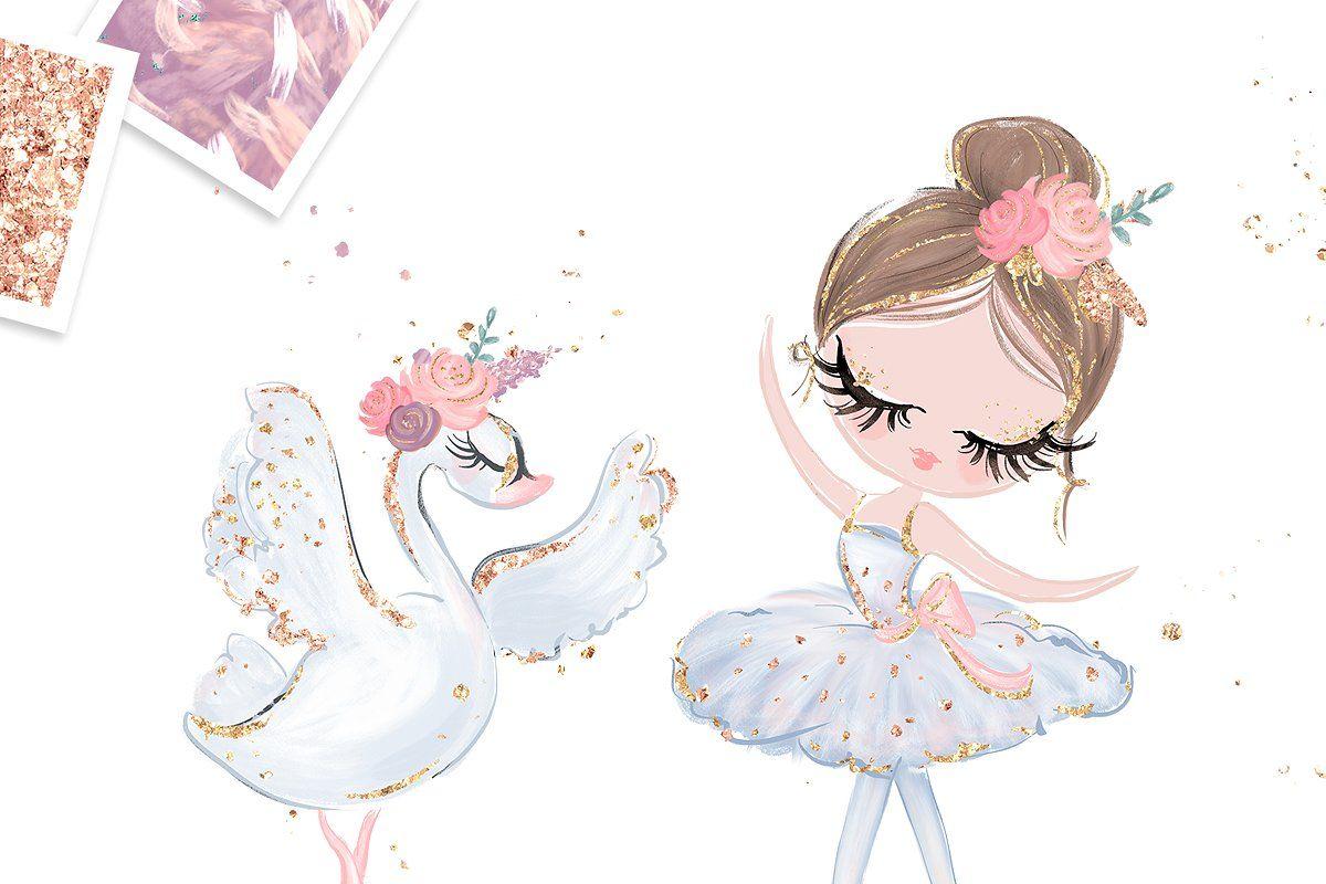 Ballerina Clipart Vector Download.