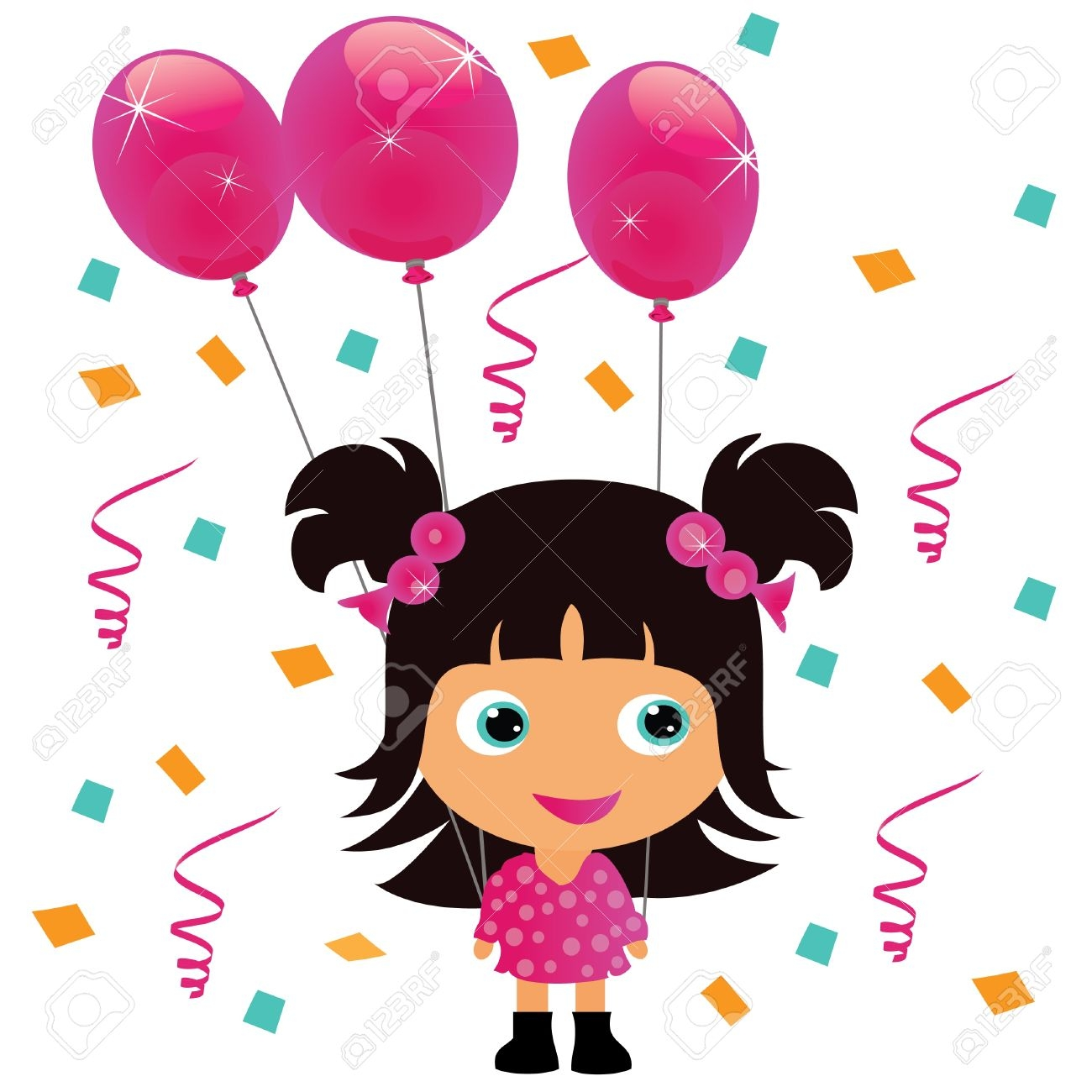 Birthday Clipart For Girls at GetDrawings.com.