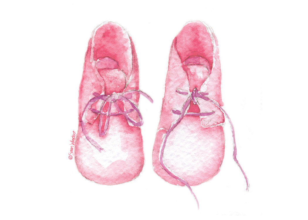 Baby Girl Bling Shoes Clipart Clipground