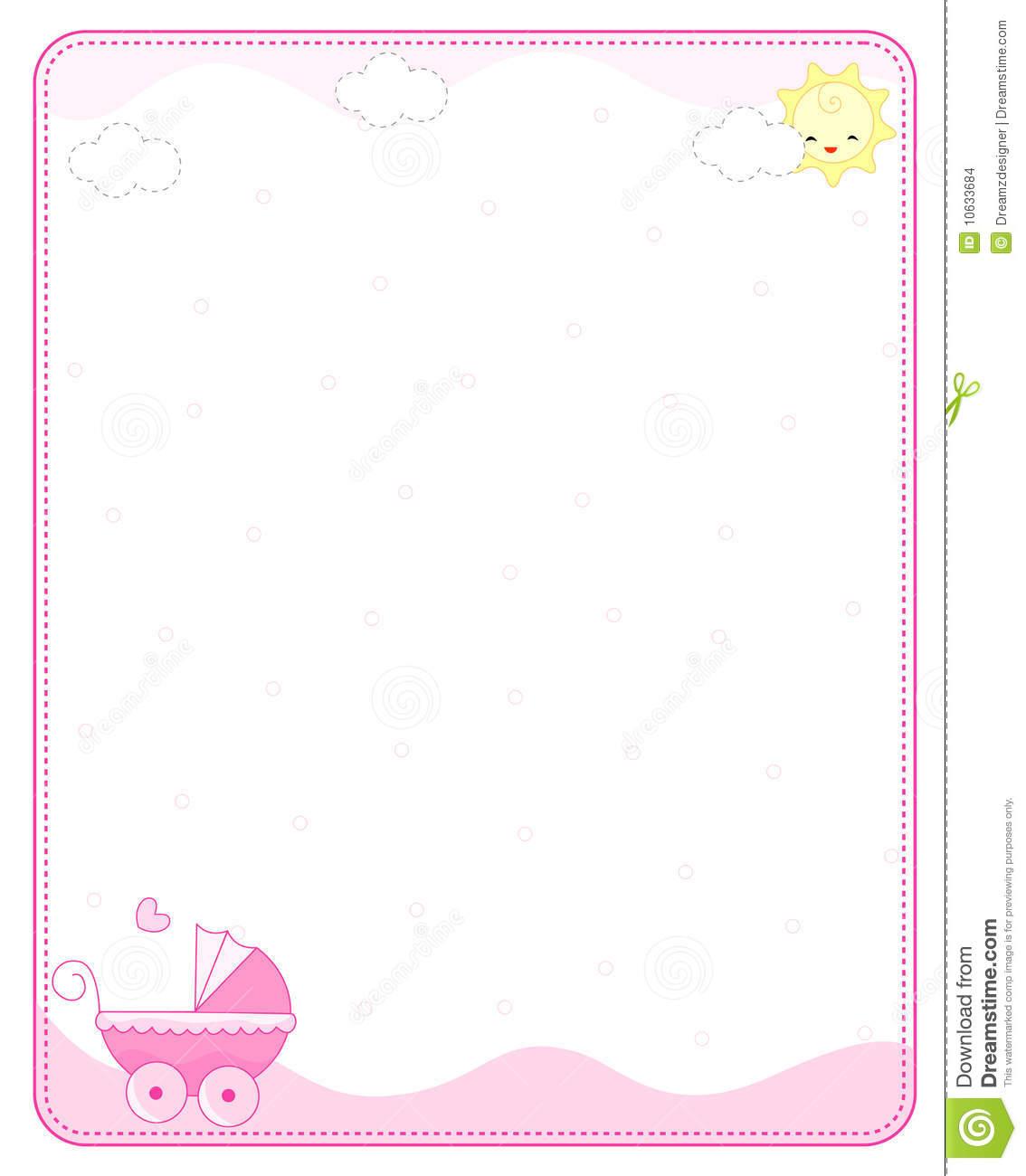 Baby girl border clipart 1 » Clipart Station.