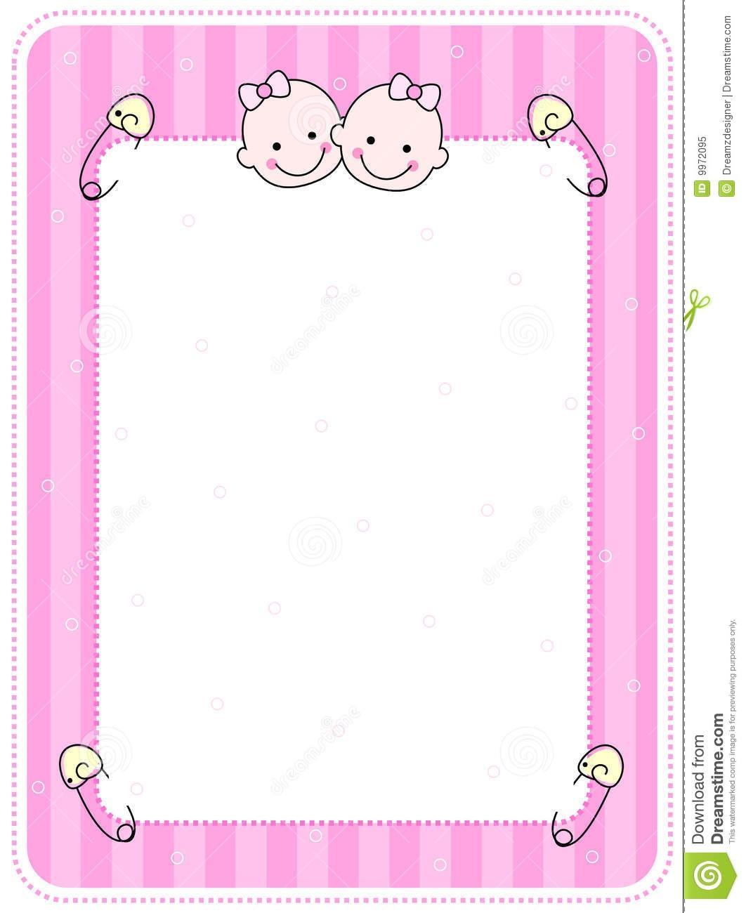 Similiar Baby Girl Borders Frames Keywords.