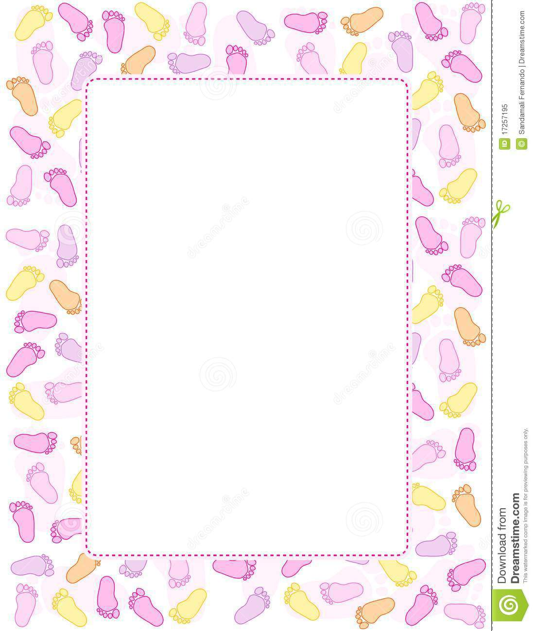 Similiar Baby Girl Paper Borders Keywords.