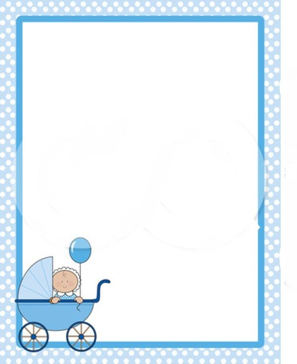 free baby clipart borders and frames