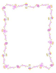 Clipart Baby Girl Borders 20 Free Cliparts Download Images On