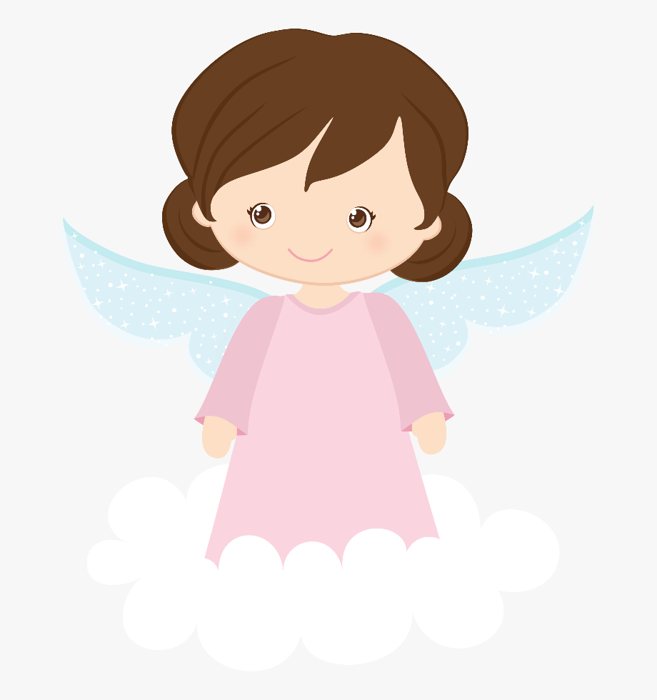 Online Clipart Baby Girl In Heaven, Baby Collection.