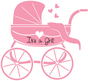 New Baby Girl Clipart.