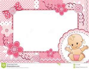 baby girl Page Borders frames free.