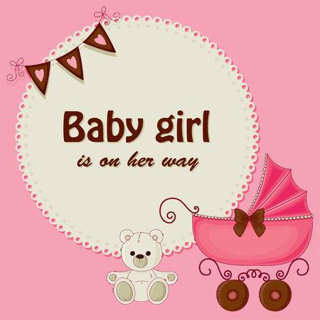 25,195 Baby Shower Girl Stock Illustrations, Cliparts And Royalty.