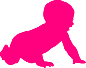 Baby Silhouette Clip Art at Clker.com.