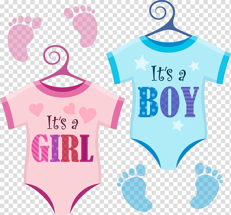 Girl Boy Infant Illustration, Baby girl baby suit, baby's pink and.