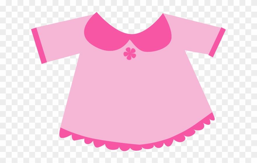 Tshirt Clipart Little Girl Clothes.