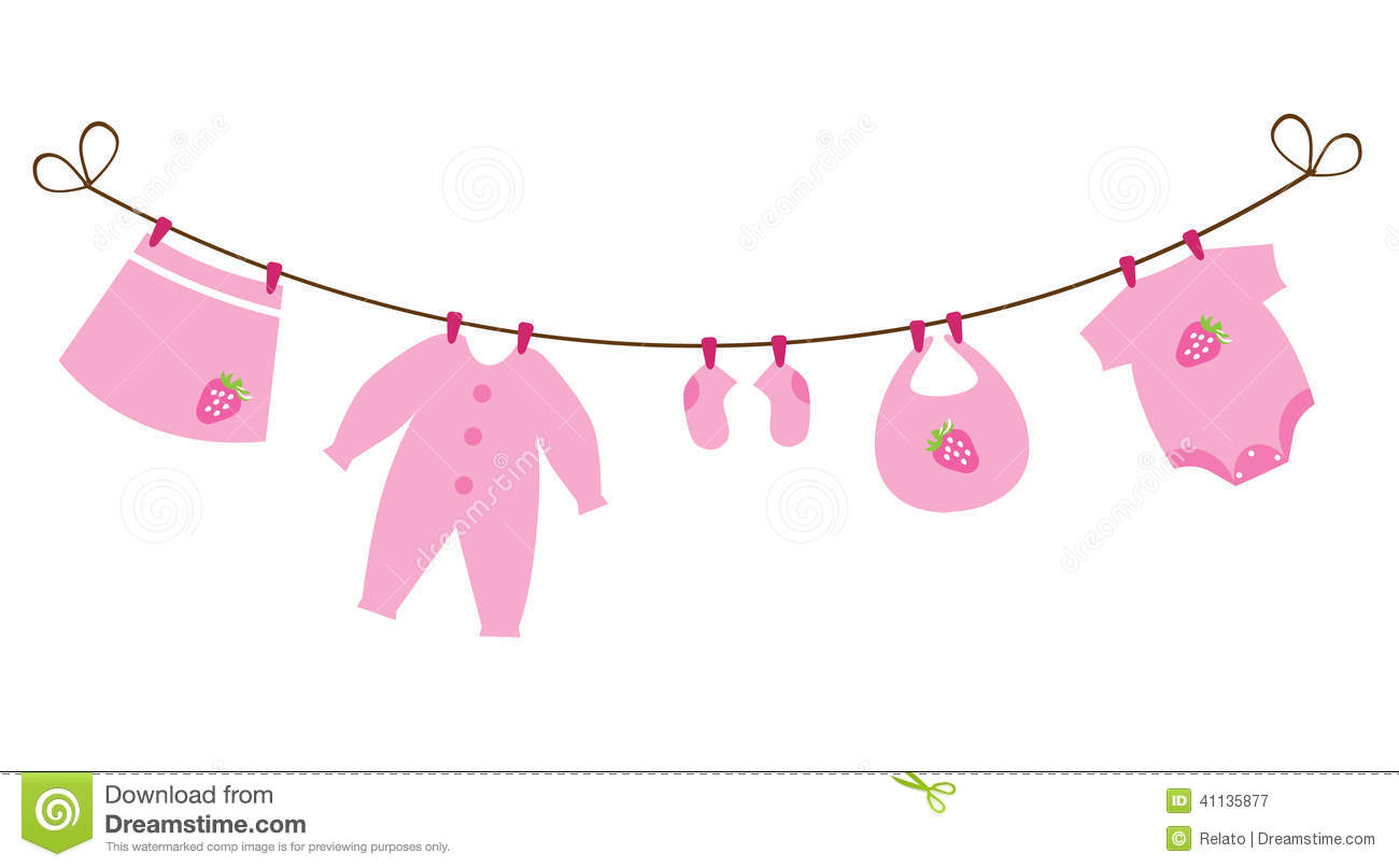 Baby Clothes For Girls Clipart (79 ).