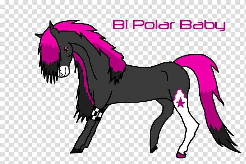 Mane Foal Stallion Mustang Colt, Horse baby transparent.