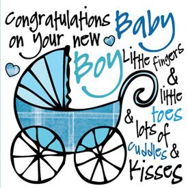 Free Baby Boy Greetings Cards 2014.