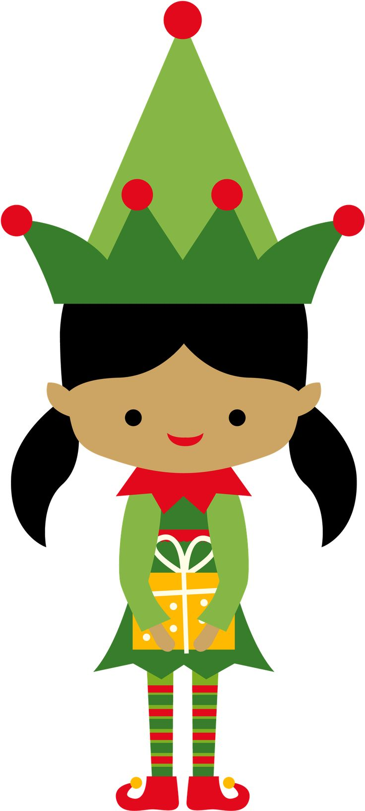 Cute Christmas Elf Clipart at GetDrawings.com.