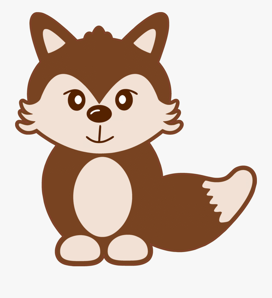 Baby Girl Fox , Free Transparent Clipart.