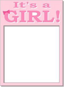 View Design: its a girl frame.
