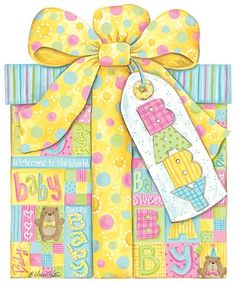Baby Gift Clipart.