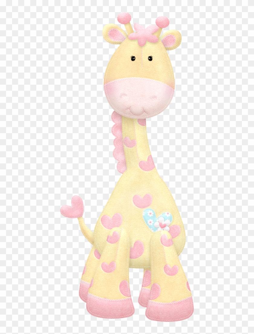 Very Cute Yellow And Pink Giraffe Print.