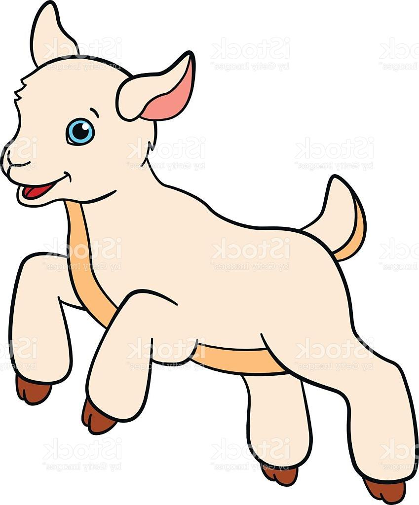 Baby girl goat animals clipart Transparent pictures on F.