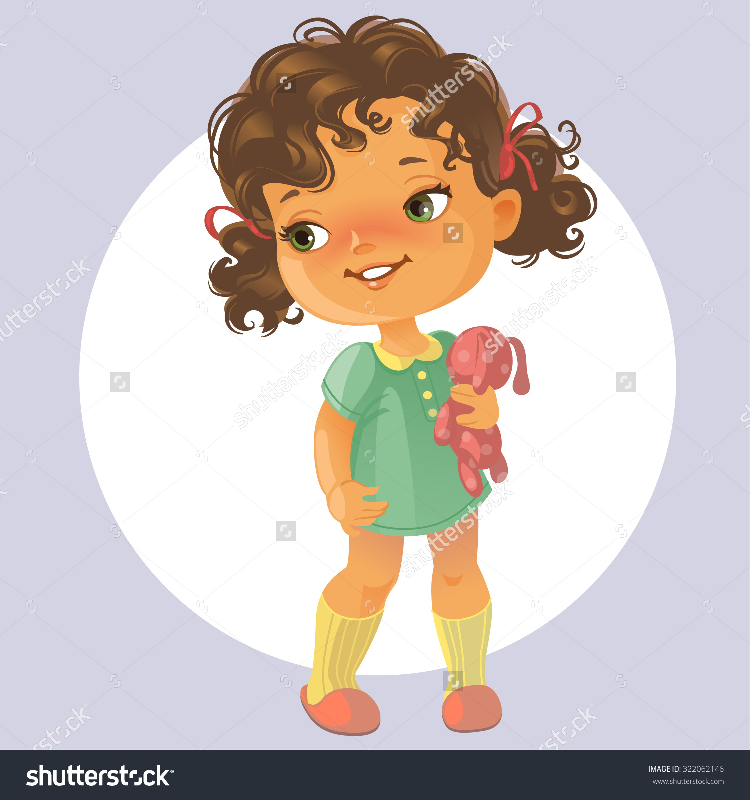 Showing post & media for Baby girl with hair cartoon.