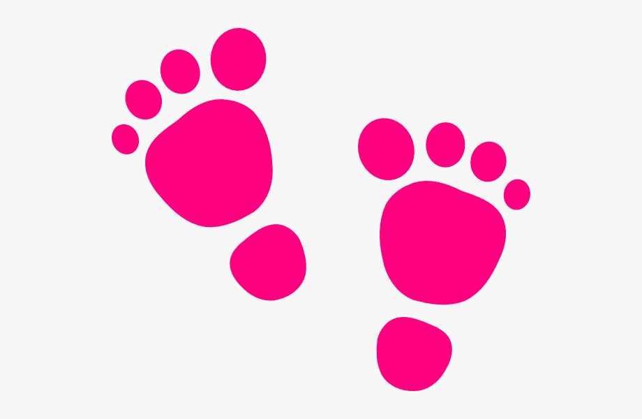 Handprint Transparent Baby Girl.