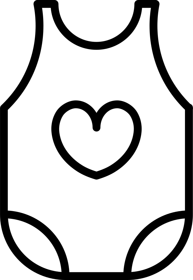 Dress Svg Baby Girl Vector Library Library.