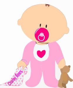 Baby Girl Clip Art at Clker.com.
