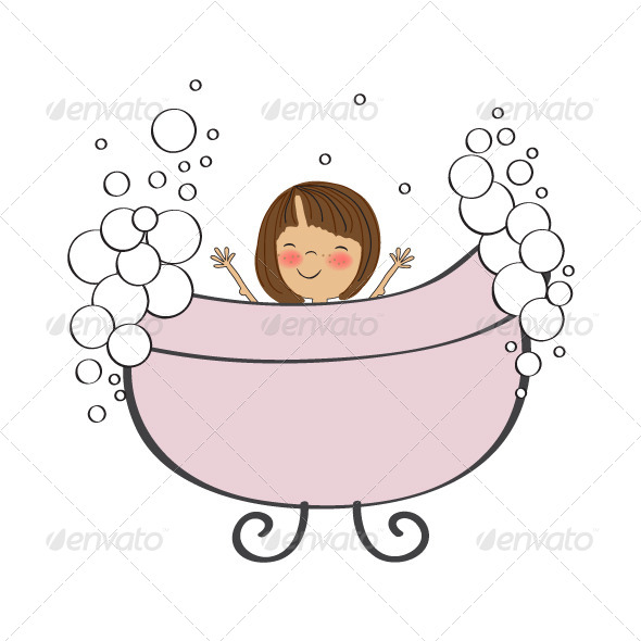 Bath clipart baby girl, Picture #261213 bath clipart baby girl.