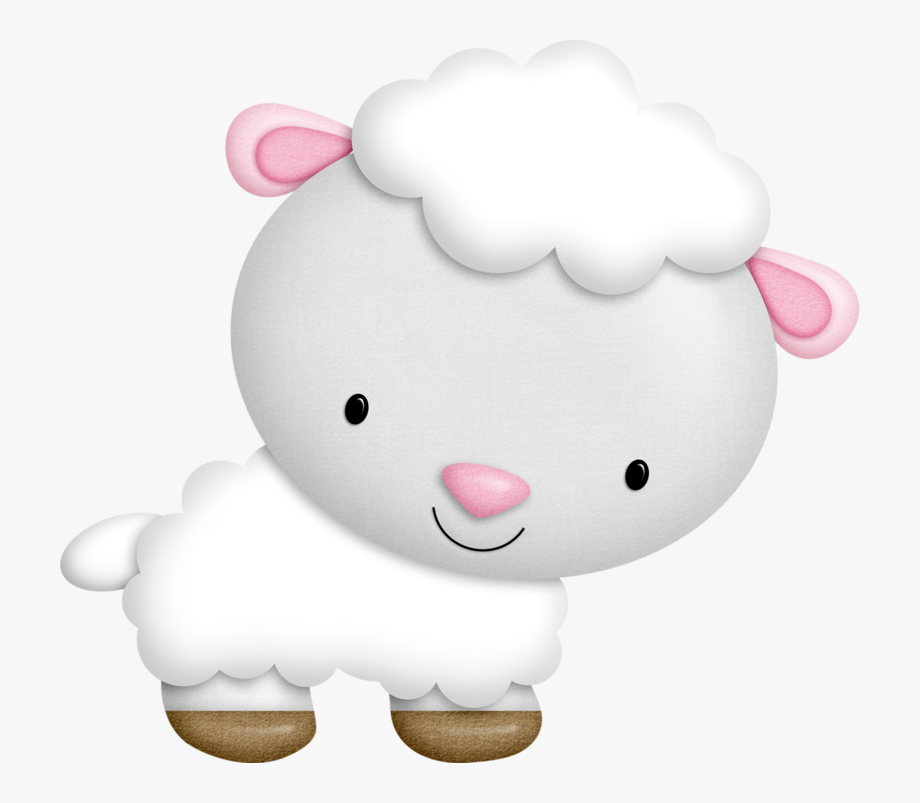 Baby Sheep Clipart.